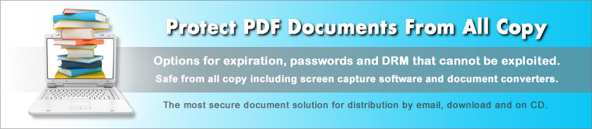 Purchase CopySafe PDF Domain Lock